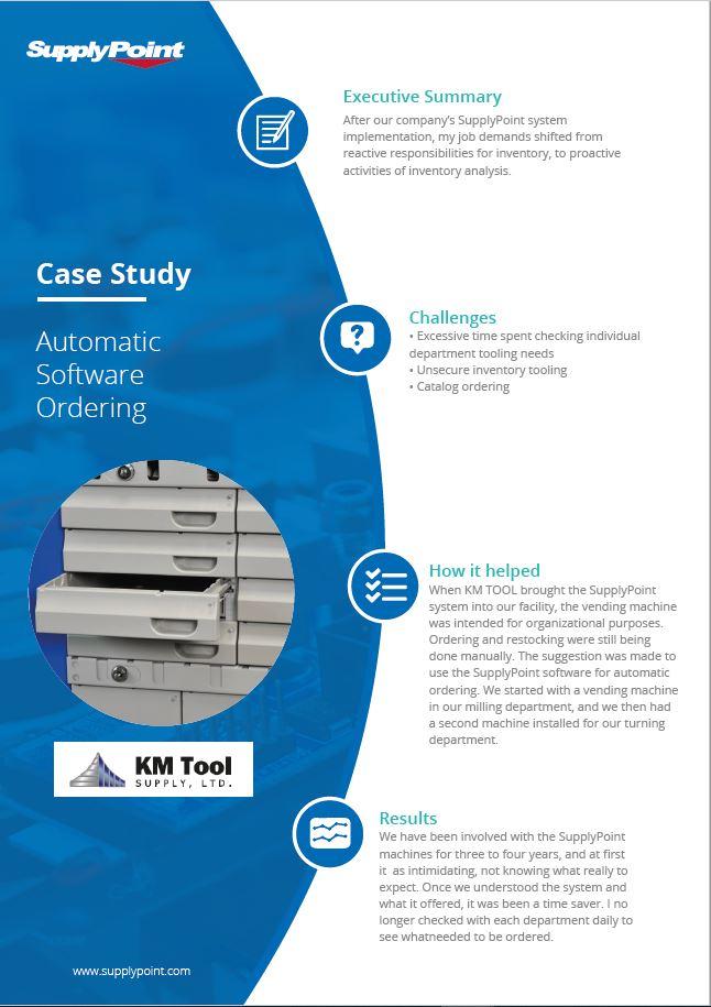 Estudio de caso de KM Tool