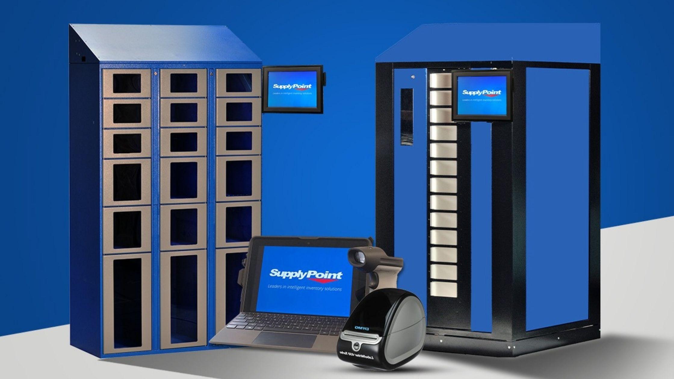 Krijg controle over uw voorraad met onze industriële verkoopautomaten.