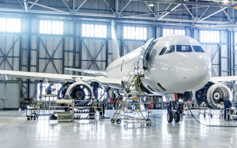 Imagem de banner da indústria aeroespacial indiana na SupplyPoint